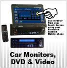 Car Monitors, DVD and Video