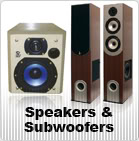 Speakers and Subwoofers